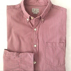 J. Crew Men's Patterned Washed Shirt